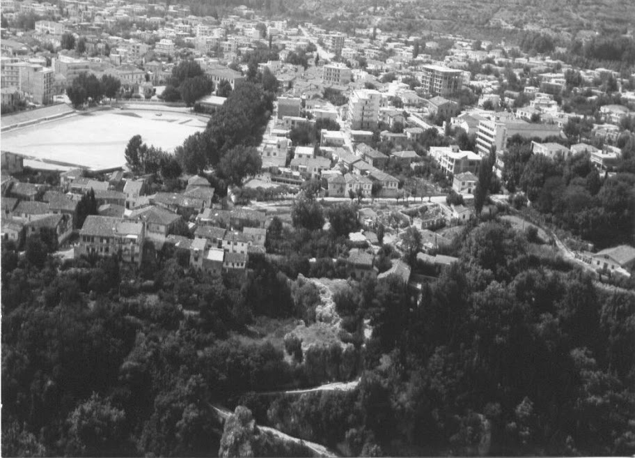 Αεροφωτογραφίες της Έδεσσας από την δεκαετία του 1970