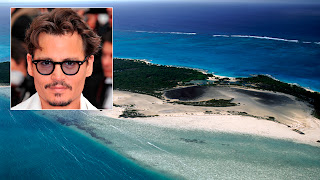 Johnny Depp owns an island