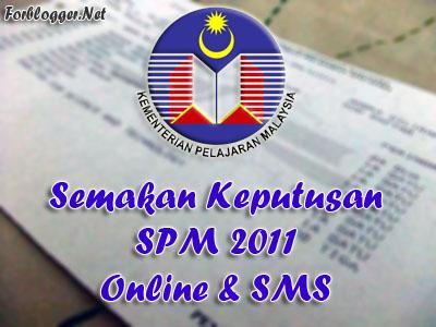 Semakan Keputusan SPM 2012