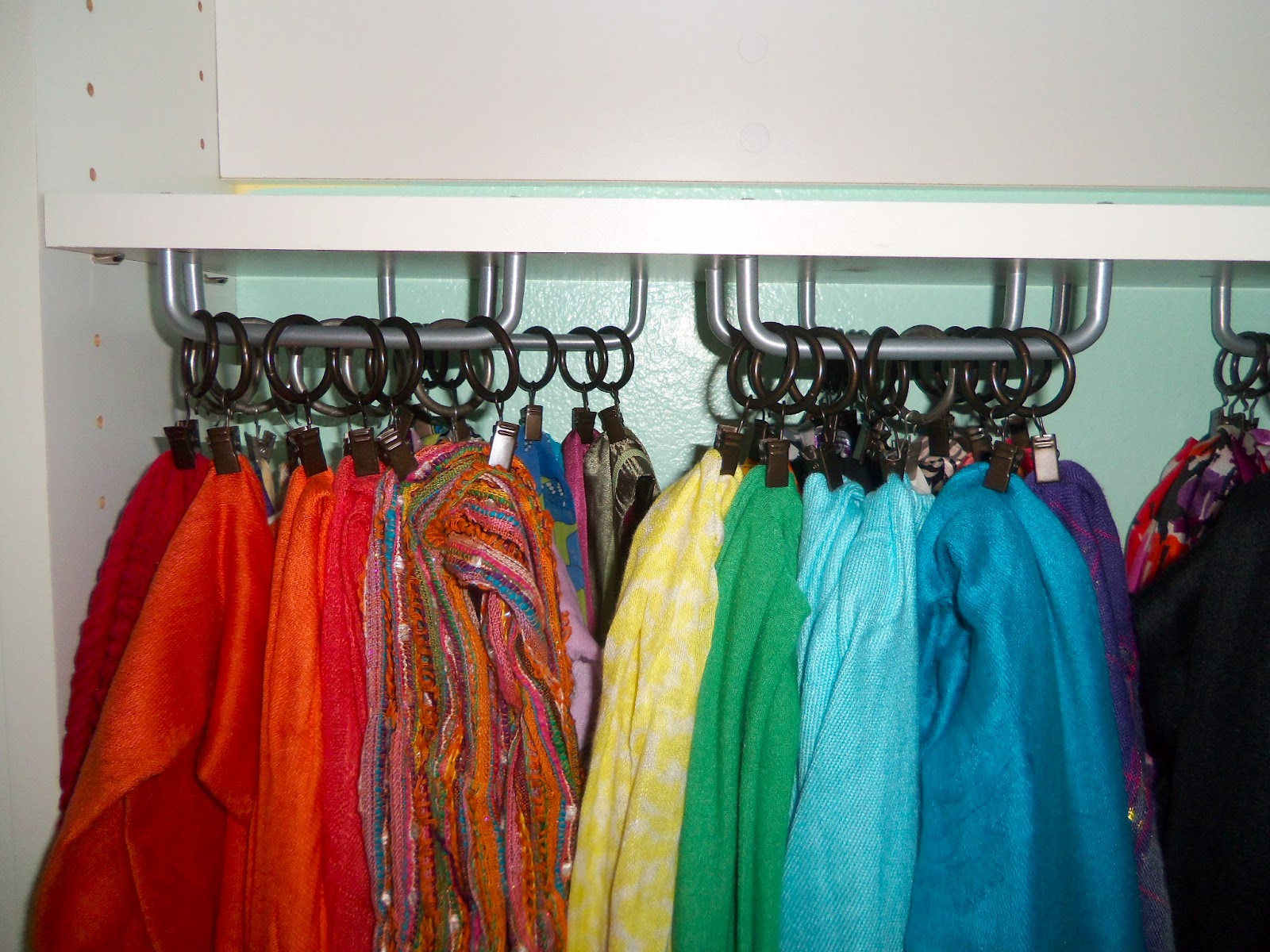 Third Time's the Charm: DIY Scarf Hanger