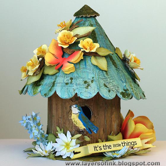 http://sizzixblog.blogspot.com/2013/05/susans-garden-birdhouse-and-flowers.html