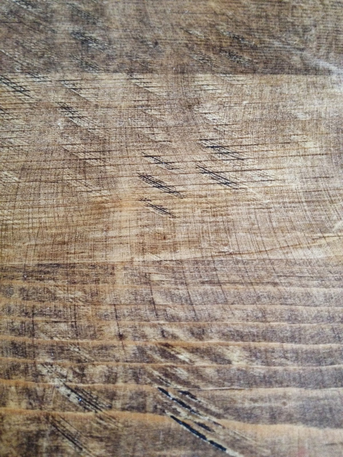 Dining Table Hemp Oil Finish