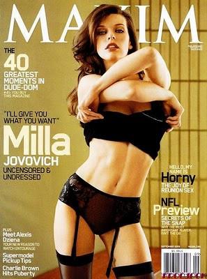 milla jovovich vagina