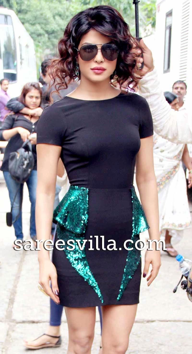 Priyanka Chopra Funky Hairstyle
