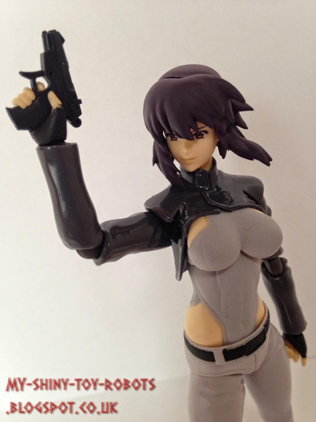 Major Motoko Kusanagi, reporting in!