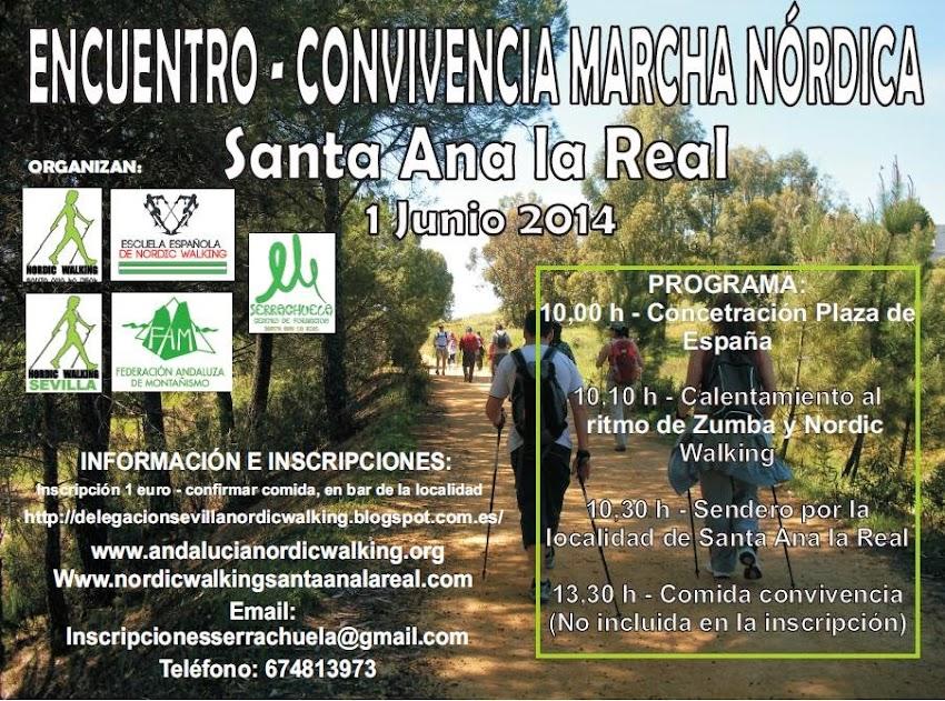 ENCUENTRO CONVIVENCIA MARCHA NÓRDICA (NORDIC WALKING)