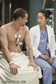 cristina yang sandra oh justin chambers alex karev grey's anatomy