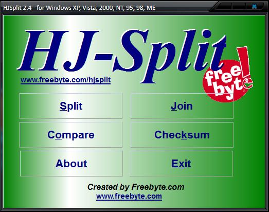 bugil HJSplit 2.4 Portable