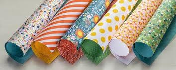 Flowerpot Designer Series Paper, Stampin' Up!