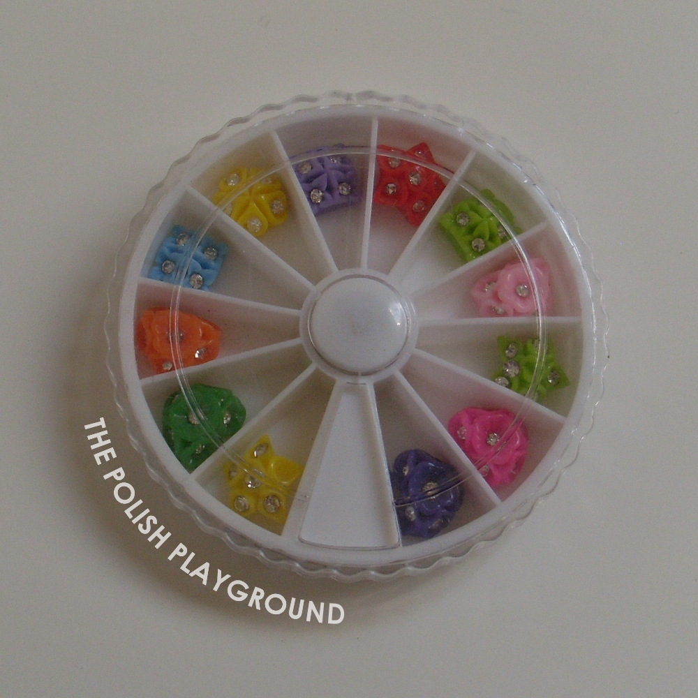 Born Pretty Store Colorful Stud Nail Art Decoration Wheel
