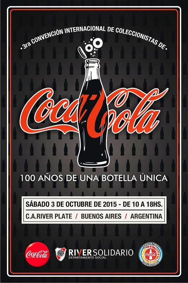 3° CONVENCION INTERNACIONAL DE COLECCIONISTAS DE COCA COLA