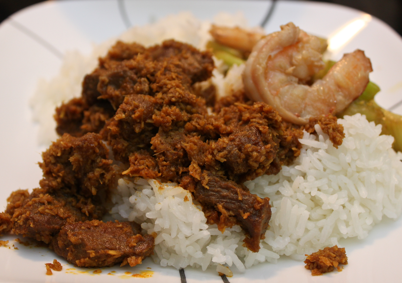 The Hungry Excavator: Brahim's Beef Rendang