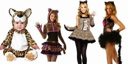 De adorable a sexy: La evolución de los disfraces femeninos según la edad