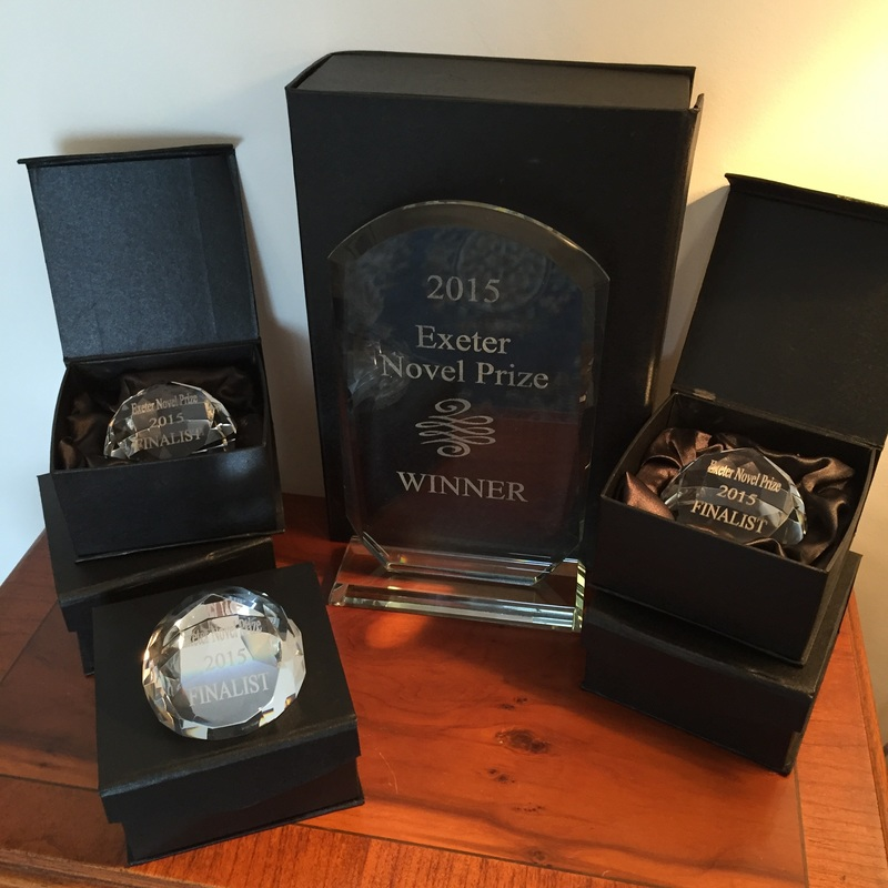 The Exeter Novel Prize 2015 - Trophies
