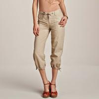 Pantaloni trei sferturi army pentru femei
