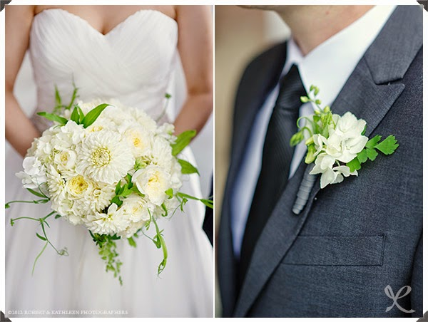Highlands Country Club Wedding - Garrison, NY - Hudson Valley Wedding - Dahlia & Sweet Pea Bride's Bouquet - Splendid Stems Floral Designs