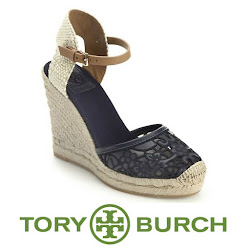 TORY BURCH Wedge and VALENTINO Dress - Queen Maxima Style