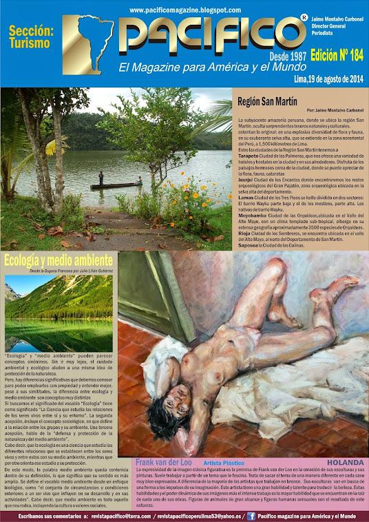 Revista Pacífico Nº 184 Turismo
