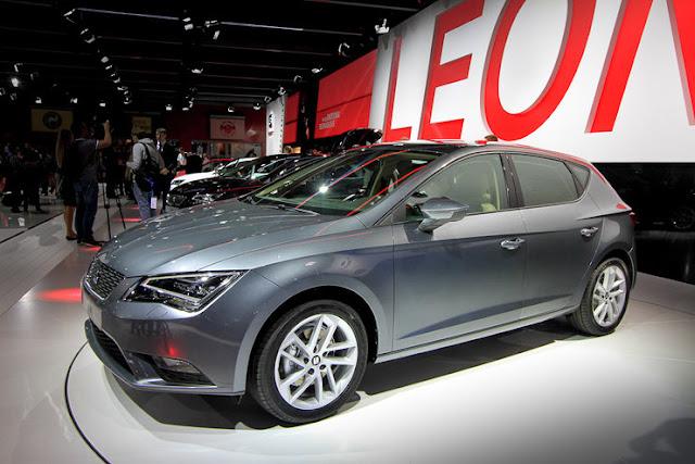 Новый SEAT Leon 2012 года