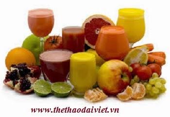 Sinh tố hoa quả giúp giảm cân