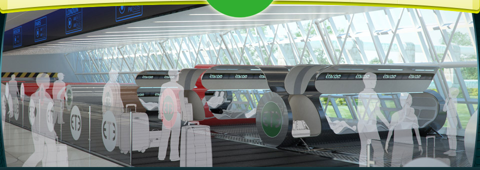 Tube transport system proposed in colorado rd square