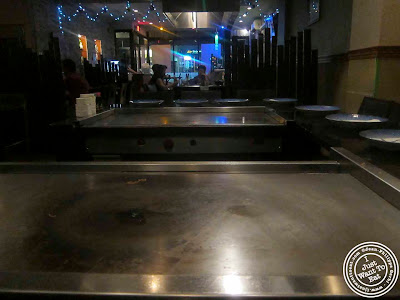 Image of hibachi at Ayame in Hoboken, NJ