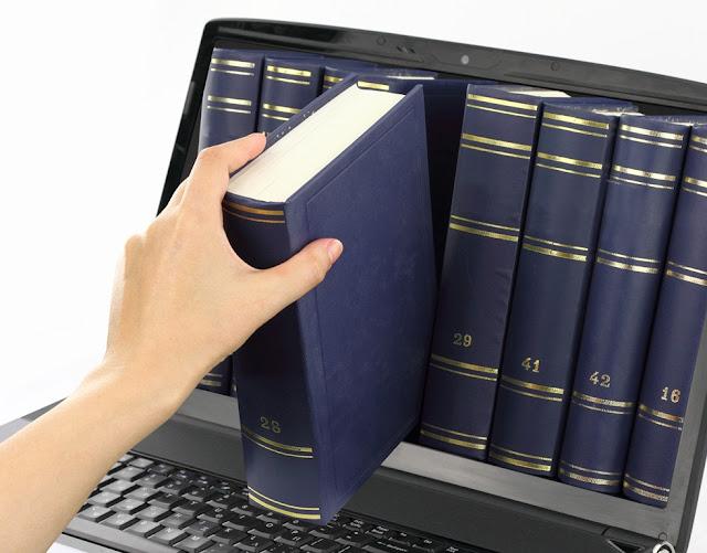 FOTO: livro digital - Chamada para o artigo de Arruma Blog