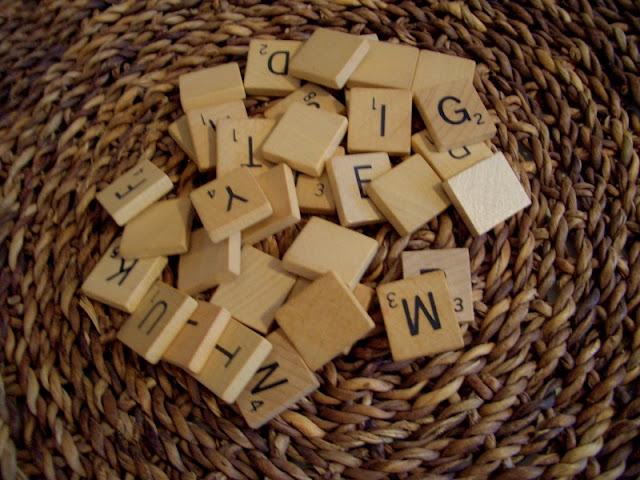 letter magnets. Scrabble Letter Magnets