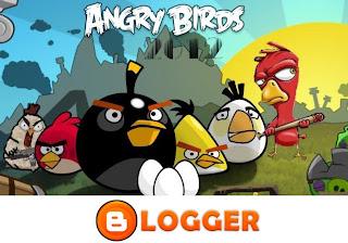 Angry Birds Sosyal Paylaşım Butonları