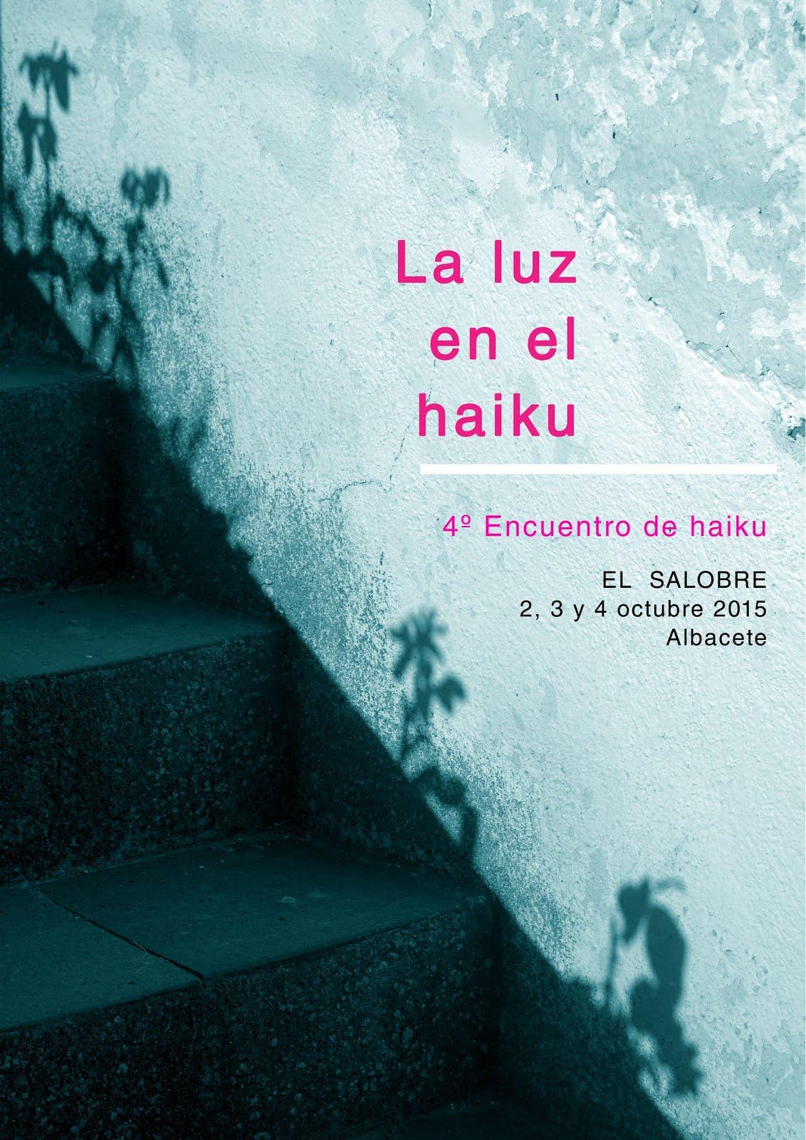 Cuarto Encuentro de Haiku - El Salobre 2015