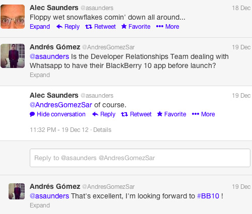 Kepastian Aplikasi WhatsApp di BlackBerry 10 via Twitter
