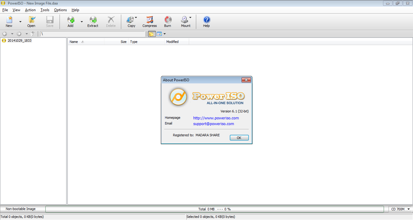 Free Download Latest Version Premium software: PowerISO 6 ...
