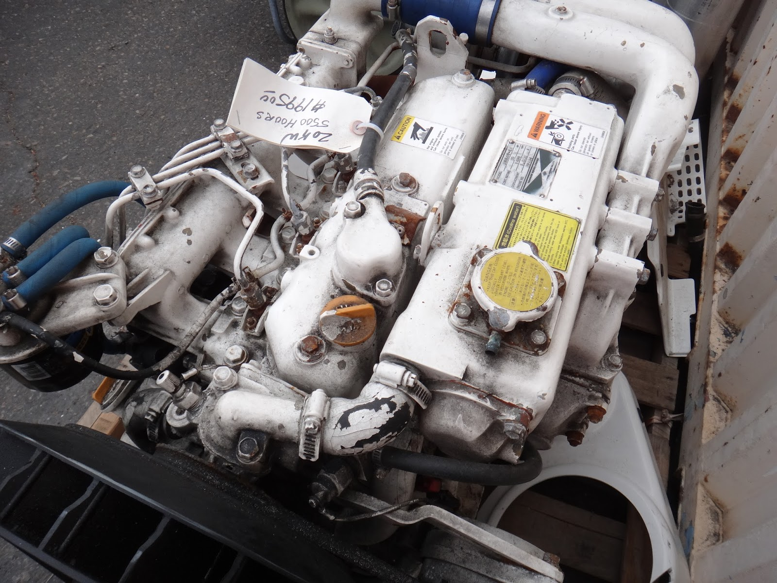 The ficial Minney s Yacht Surplus Blog YANMAR 4 Cylinder sel