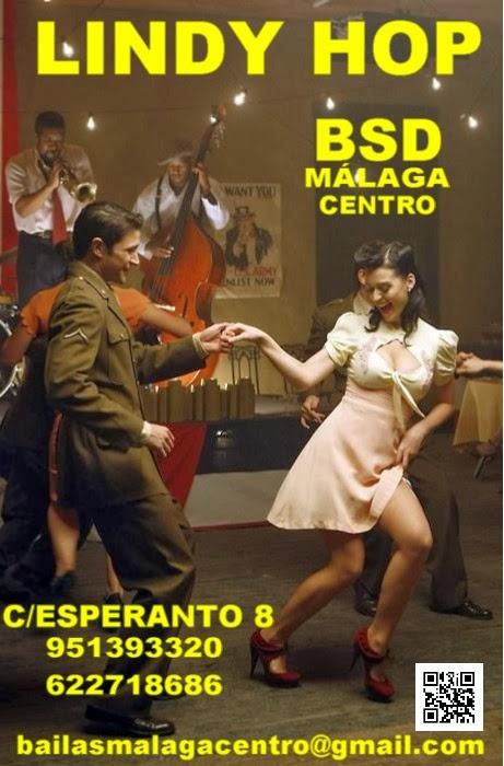 CURSO DE LINDY HOP EN BSD MÁLAGA CENTRO