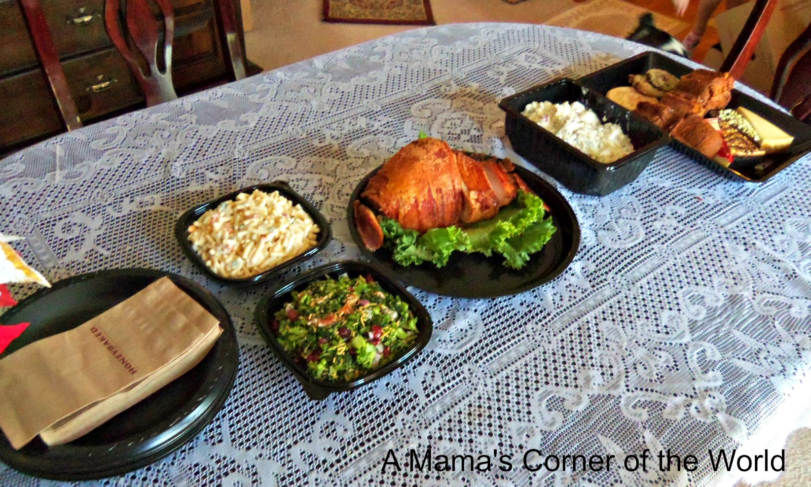 Easy Easter Dinner With Honeybaked Ham Catering A Mamas Corner Of