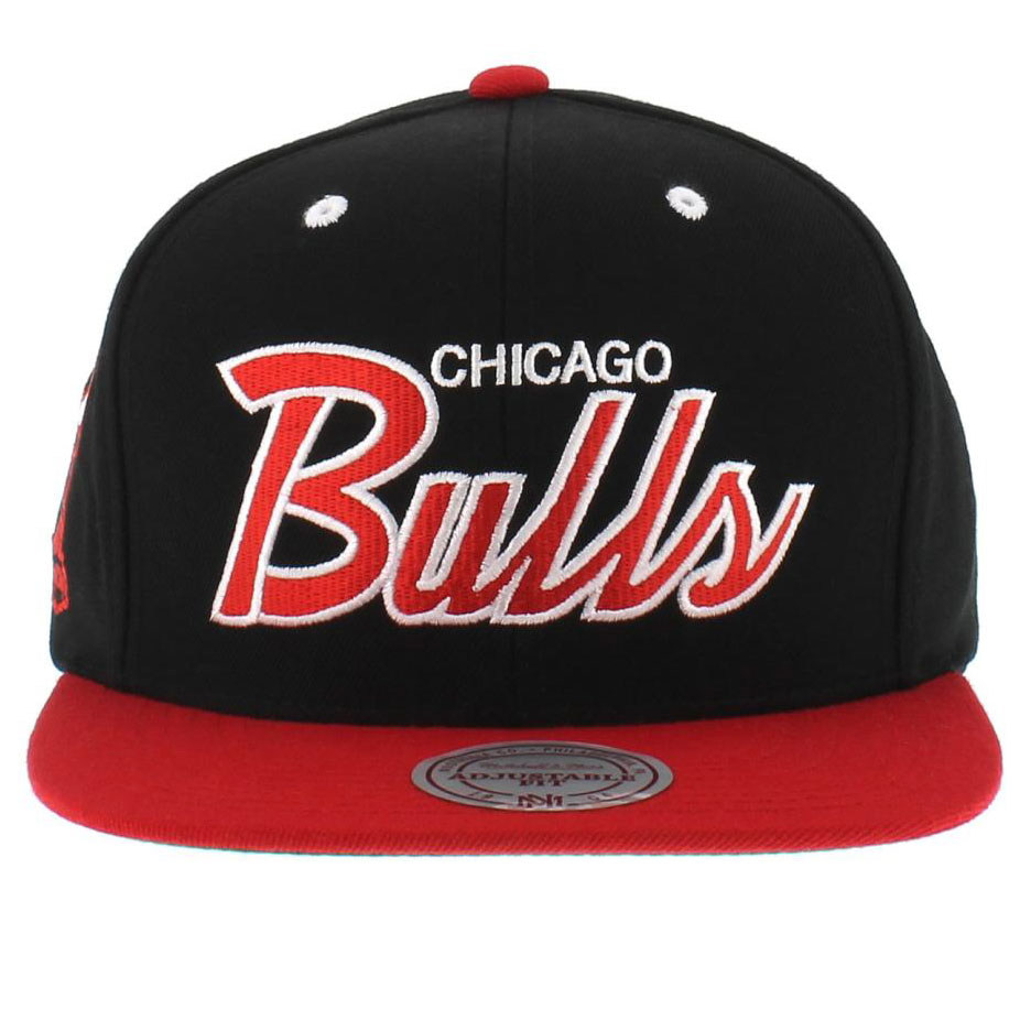 Bone Chicago Bulls Team Colors The Script Bone De Aba Reta Fabricado