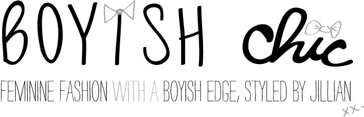 boyish chic