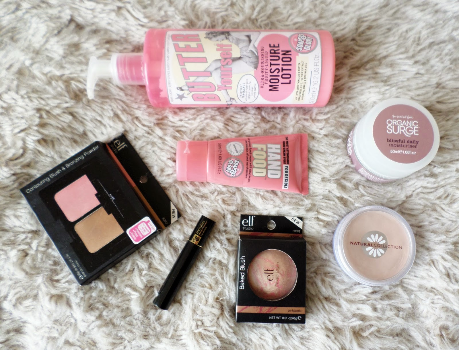August Beauty Favourites Featuring Soap & Glory, Organic Surge, Natural Collection, ELF Cosmetics and Lancome