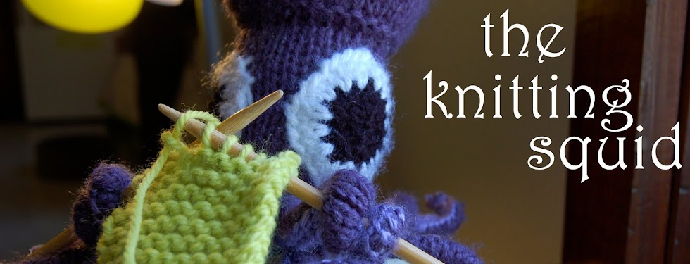 the knitting squid