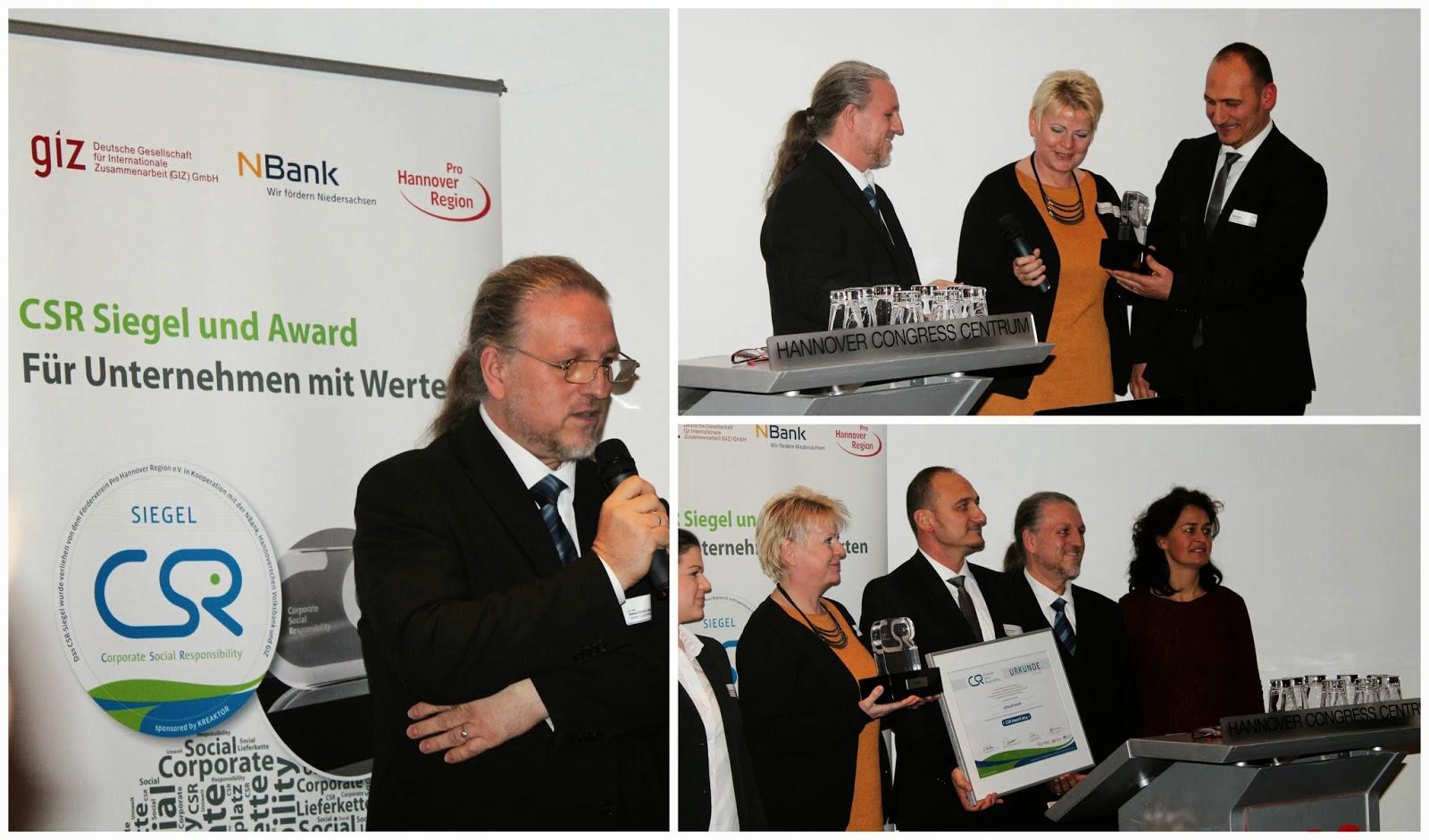 CSR Award lillestoff Unternehmerische Verantwortung
