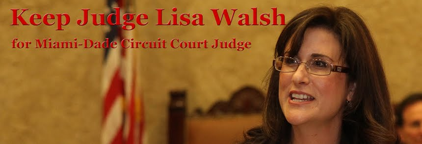 Keep Judge Lisa Walsh