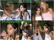 A Armamos el maquillaje junto a los peinados