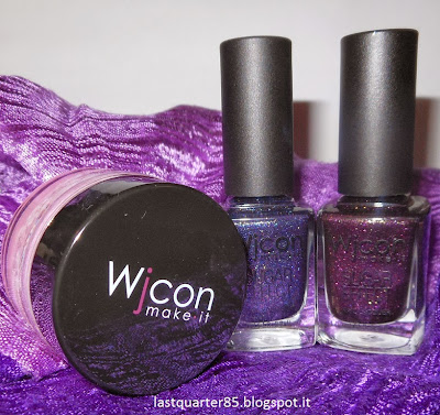 Wjcon: da sinistra Soft Blush Mousse 01, Sugar Effect 808 e Sugar Effect 805.