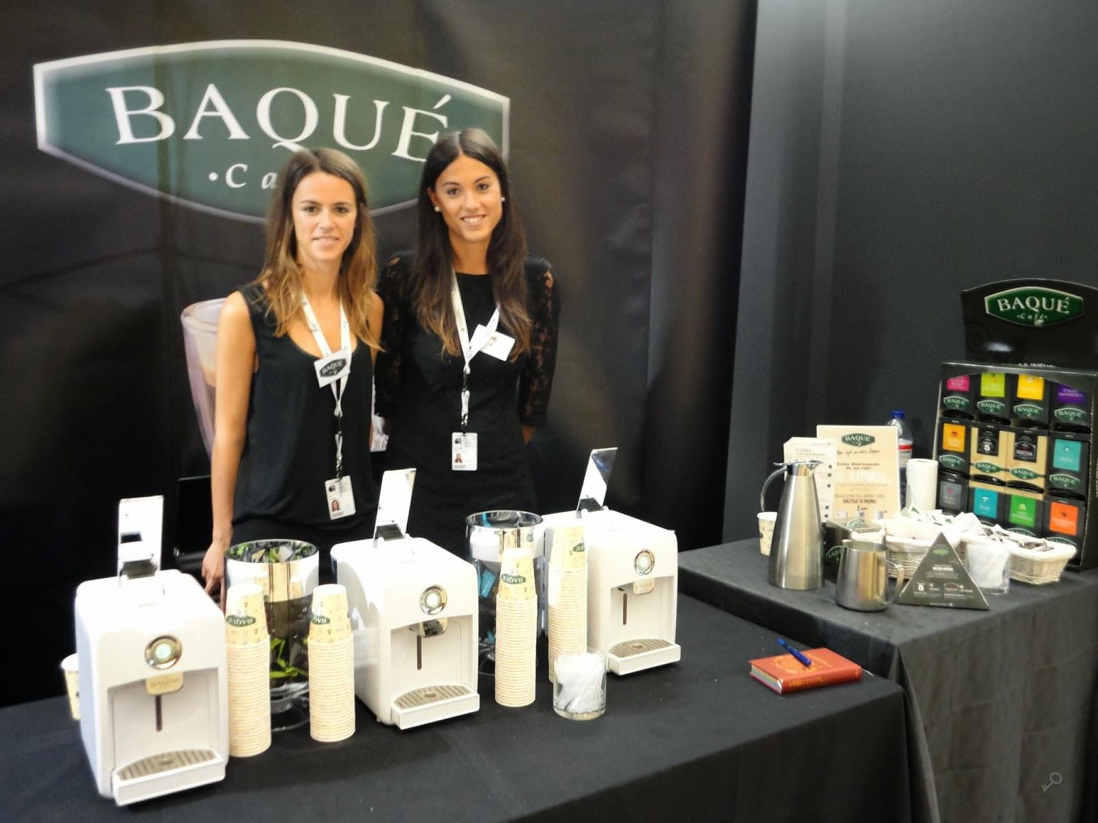 Sala Industry Club, puesto de café Baqué