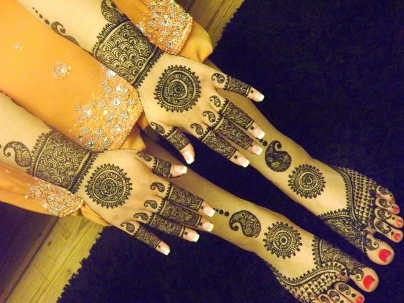 Mehndi Wallpapers Feet : Bridal mehndi designs new feet and hand