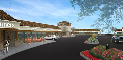 Future Rendering of Greystone Shopping Center to be complete Spring 2014