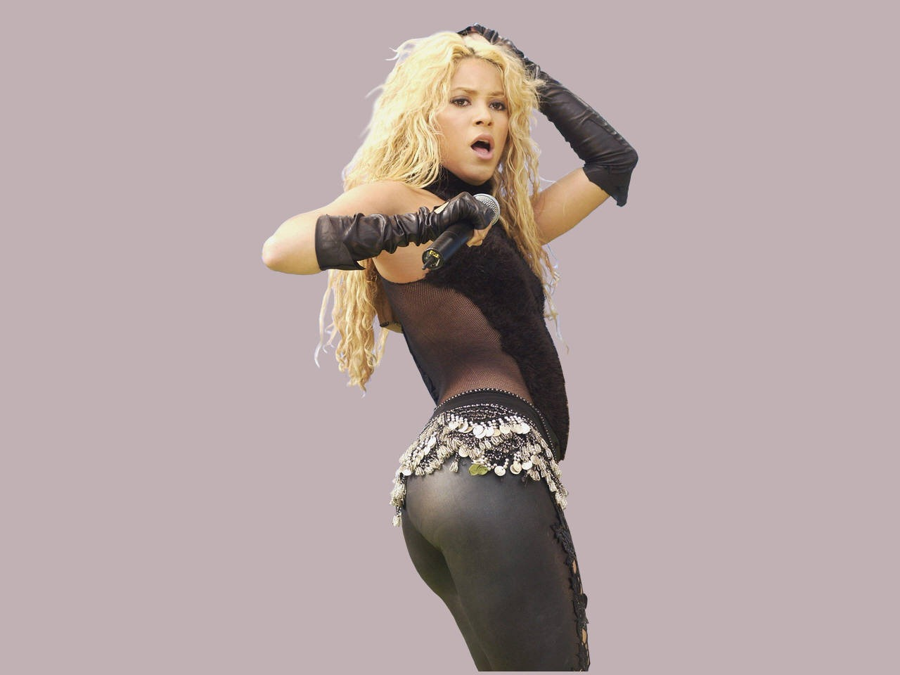 Shakira Beautiful Latest Hot Wallpaper