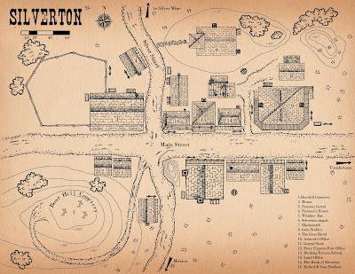 Corey Ryan Walden Tombstone RPG - Joe Salvador Cartographer