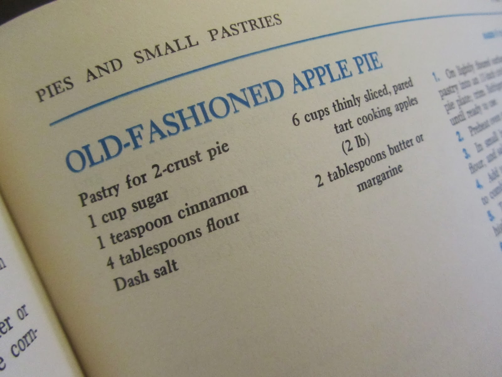 Old fashioned apple pie recipe ingredients