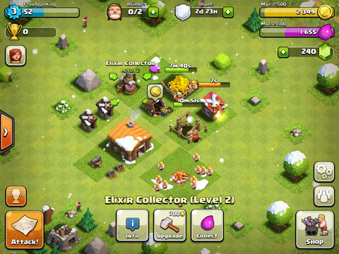 Clash Of Clans Free App Game By Supercell